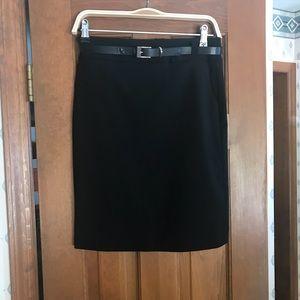 Banana Republic lightweight wool skirt
